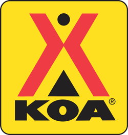 picture of KOA logo